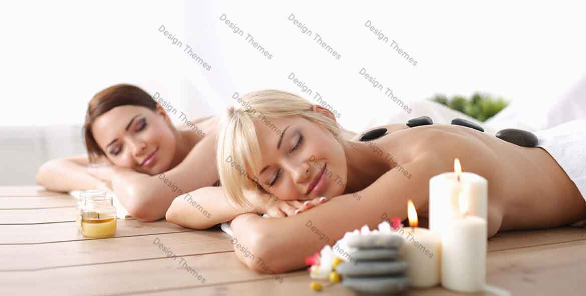 ladies active on spa session